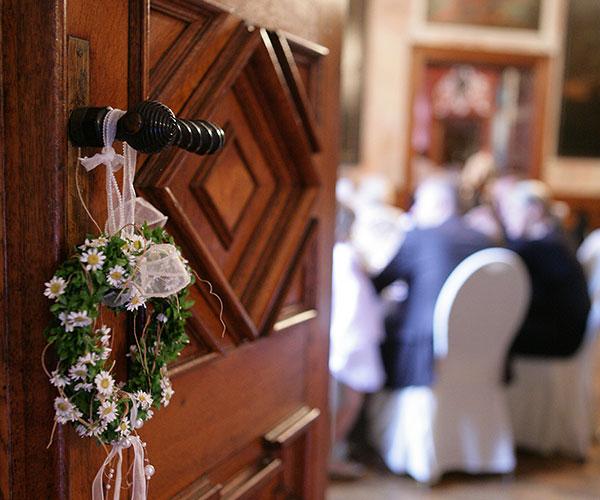 Hochzeitsfeier im Klostergasthof am Heiligen Berg